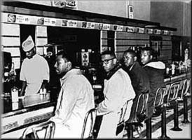 Greensboro & Nashville Sit Ins. Feb 13-May 10 1960