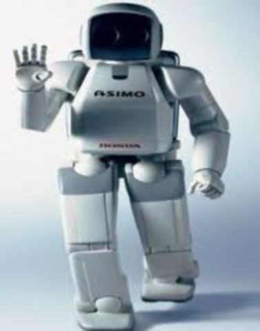 Robot ASIMO (Advanced Step in Innovative Mobility)