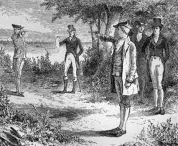 Hamilton shot Dead