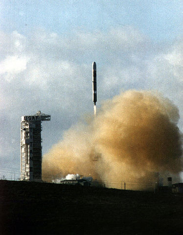 Clementine was launched.