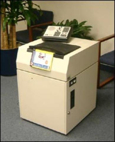 Máquina de lectura para ciegos