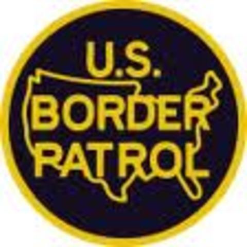 Establishment of the U.S. border patrols