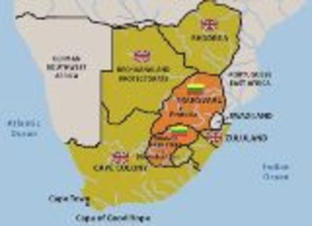 Cape Town becomes a British colony