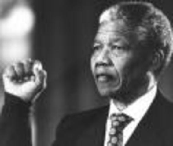 Election of Mandela as president