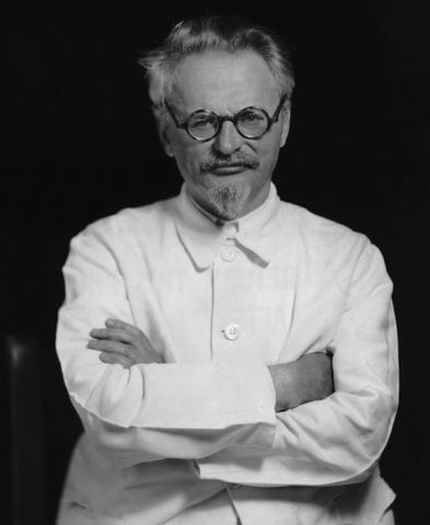 Leon Trotsky Dies