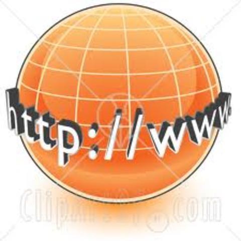 Aparición de la WWW (World Wide Web)