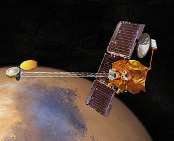 The Mars Odyssey gets to Mars