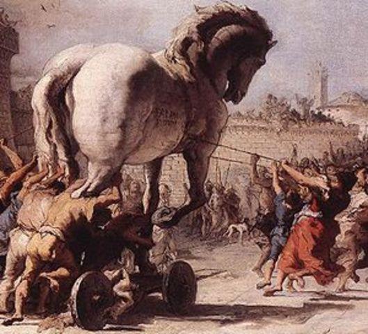 Creation of Trojan Horse