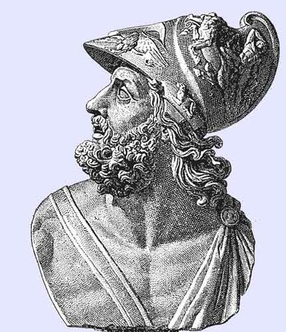 King Menelaus gets a visitor