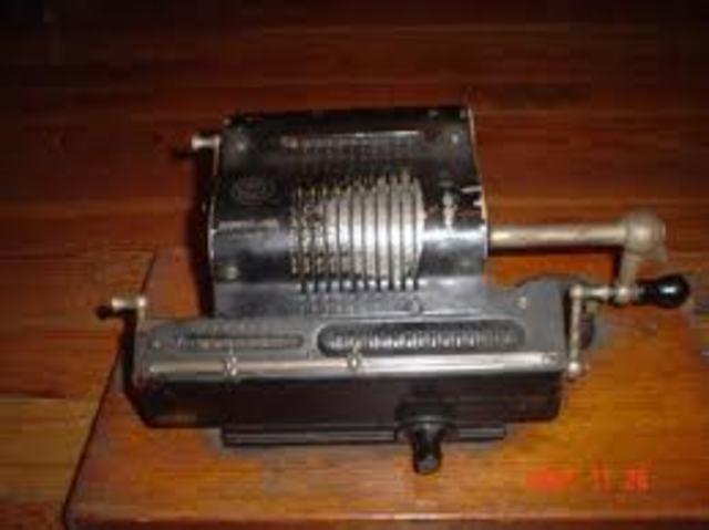 primera maquina