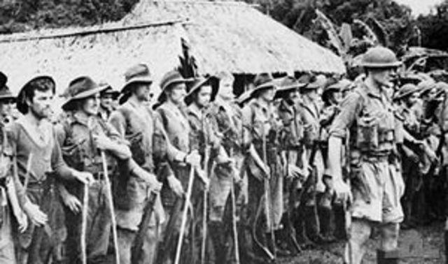 Battles in Papua New Guinea begin