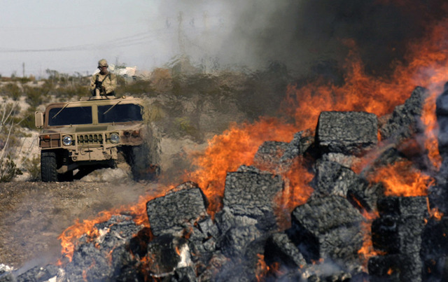 Calderon declares war on drug cartels