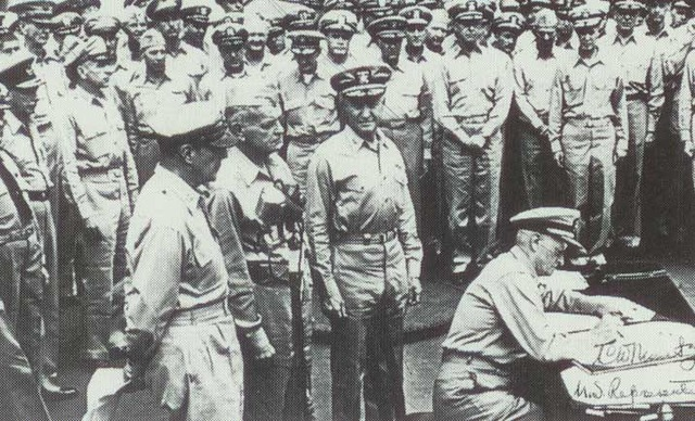 The Formal Surrender Agreement