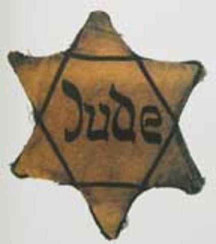 Wearing of Star of David