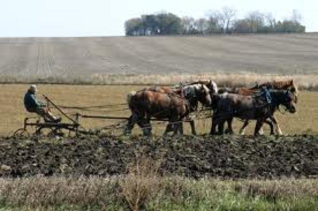 Mid 1800s farming