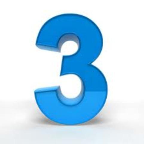 Three Time's a Charm