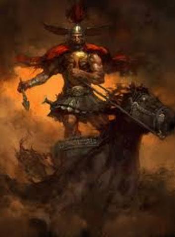 Achilles Stops Fighting  991 B.C.