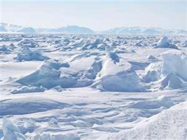 Martian ice