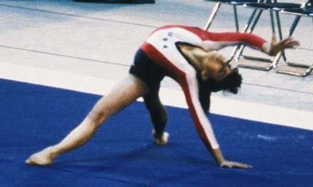 Julissa Gomez starts gymnastics with coach Bela Karolyi