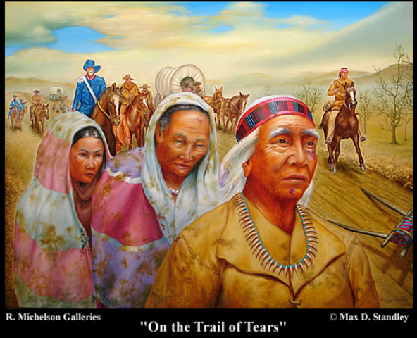 """Cherokee Removal """"Trail of Tears"""""""