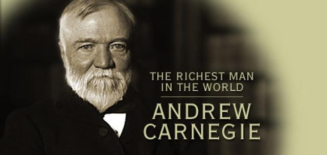 Super wealthy Classes (Carnegie  Steel)