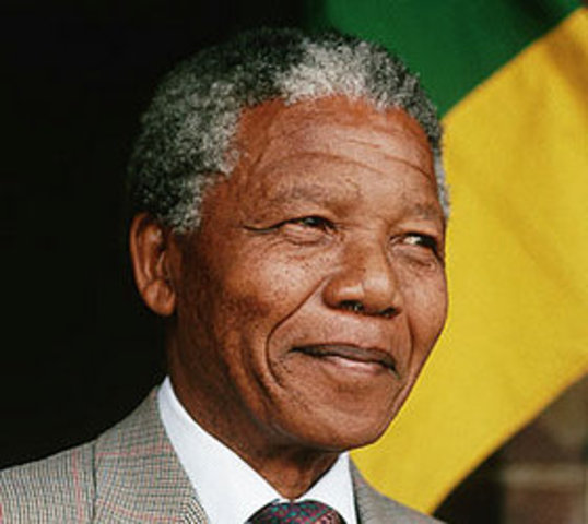 Nelson Mandela freed from South African prison