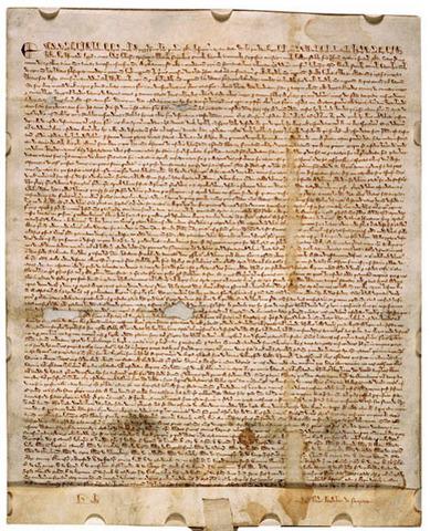 Magna Carta Adopted