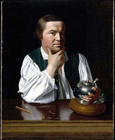 Midnight Ride of Paul Revere, Battles of Lexington and Concord