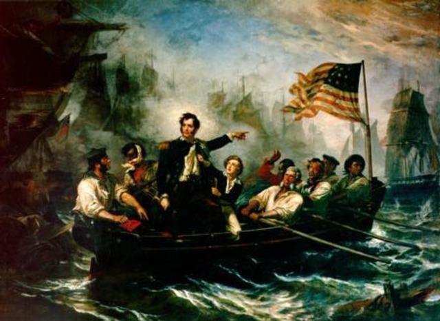 Battle Of Lake Erie.