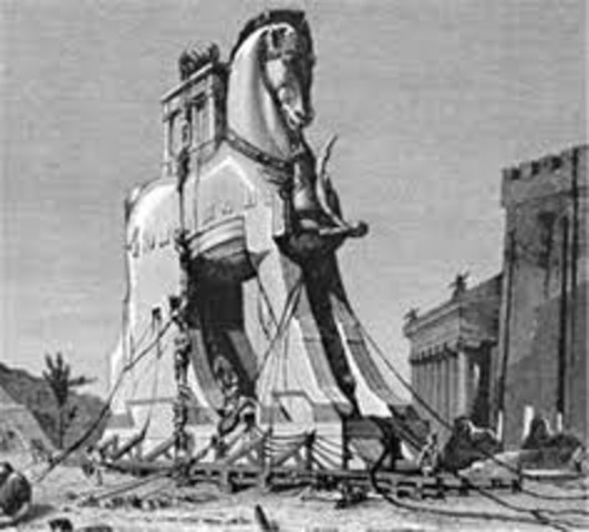 The Trojan Horse  990 B.C.