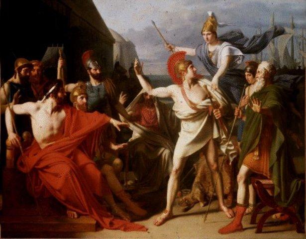 Quarrel Between Achilles and Agamenmon