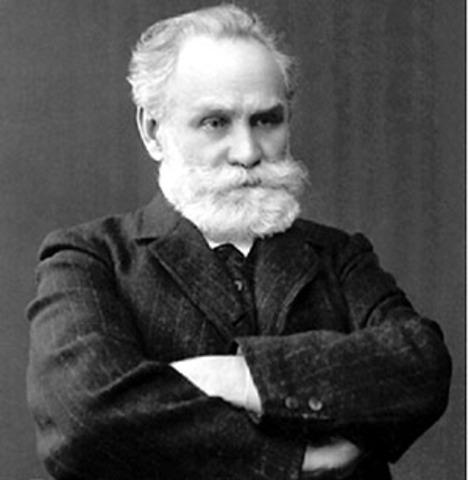 Ivan Pavlov -  da a conocer su trabajo sobre el condicionamiento clásico