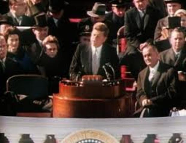 JFK inaugrated