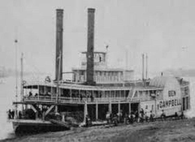 Robert Fulton makes first successful steamboat