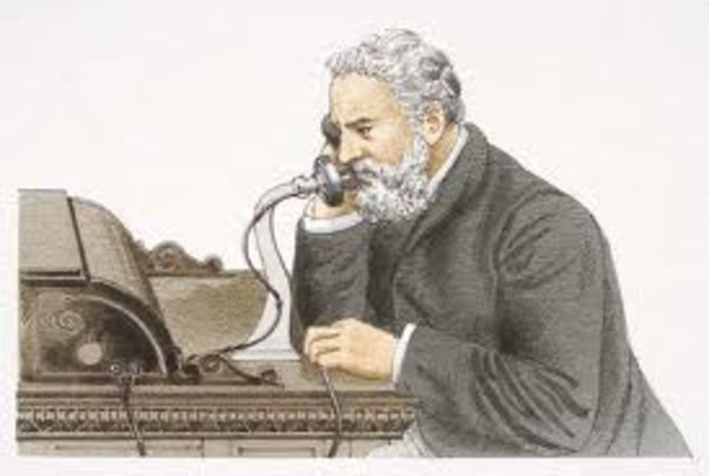 Alexander Graham Bell invents the Telephone!
