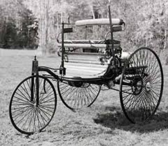 Karl Benz creates the first automobile