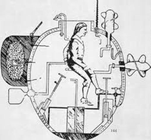 David Bushnell invents a submarine