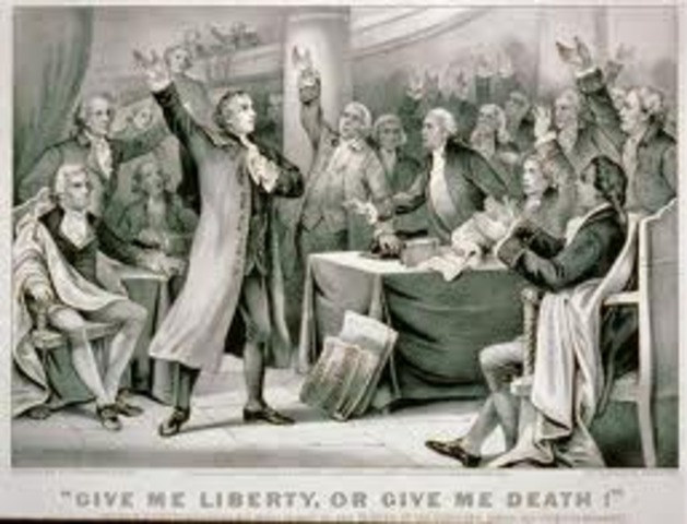 """""""Give me liberty or gie me death!"""""""