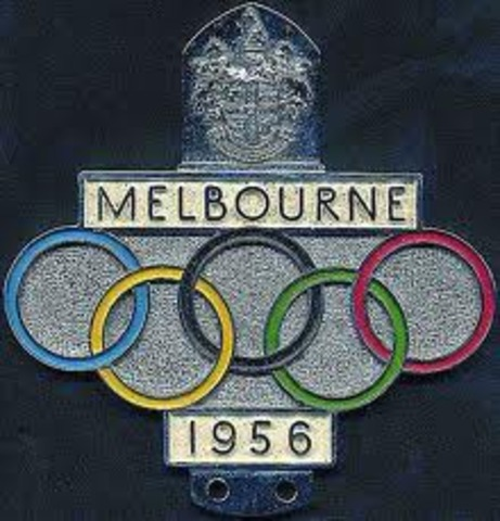 Melbourne Holds the Olympics