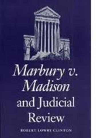 Marbury v. Madison Court Case