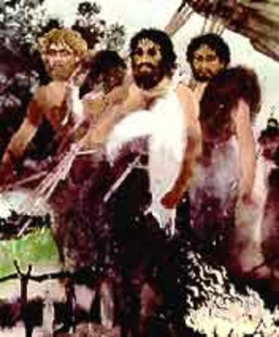 Hace 40 mil años aparecio el Homo sapiens sapiens.