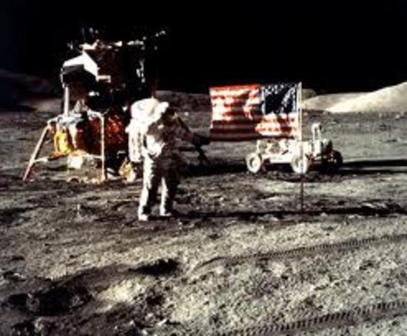 Apollo 17 returned from the moon