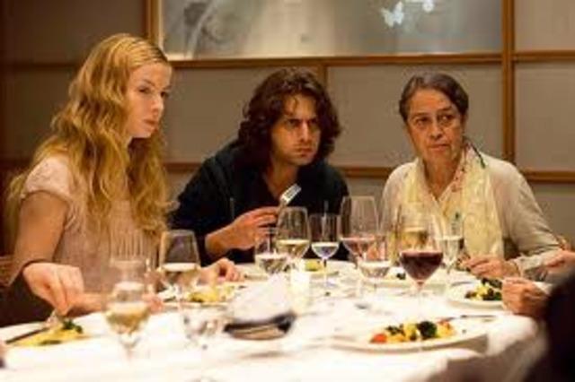Essen mit Nadine und Schwiegereltern