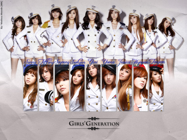 """Famous SNSD Song """"Genie"""""""