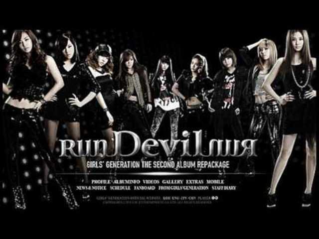 "Released ""Run Devil Run"""
