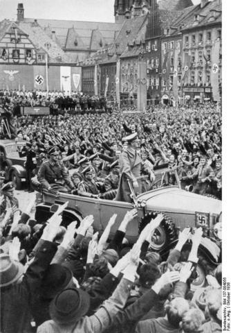 Hitler formally named Fuhrer