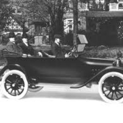 First Cars Timeline