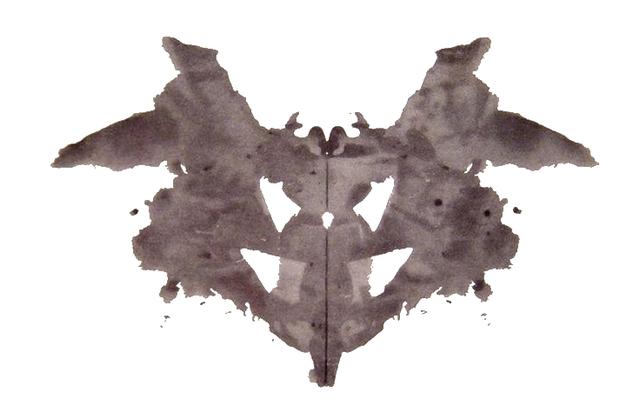 Rorschach crea el test delas manchas de tinta