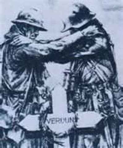 The Battle of Verdun starts