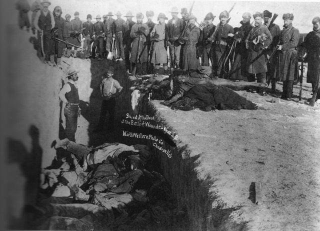 Battle of Wounded Knee (Massacre)